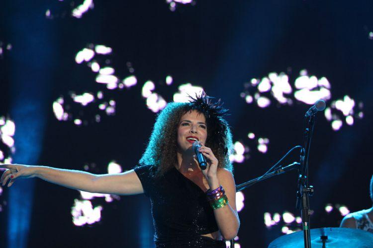 No Marco Zero, no Recife, Vanessa da Mata se apresenta (05/03/2011)