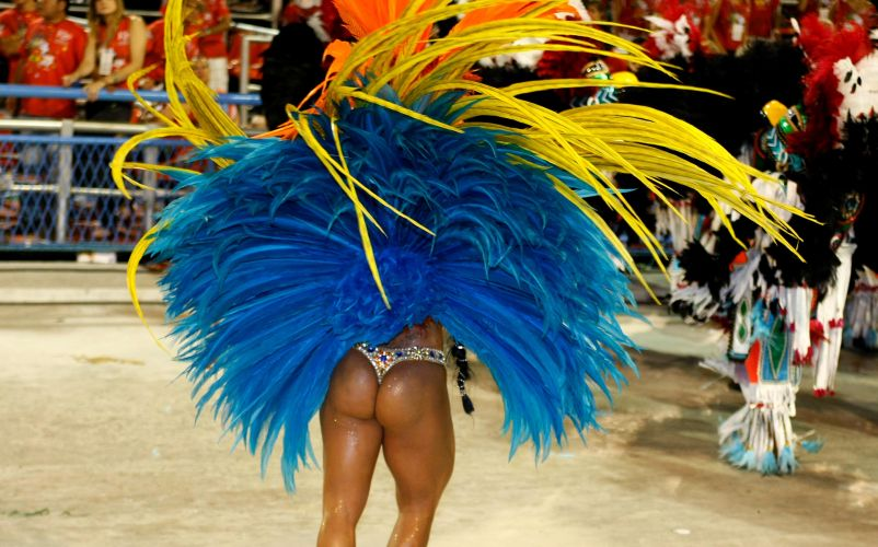 Destaque da Vila Isabel, escola que fala sobre cabelos neste Carnaval (06/03/2011)