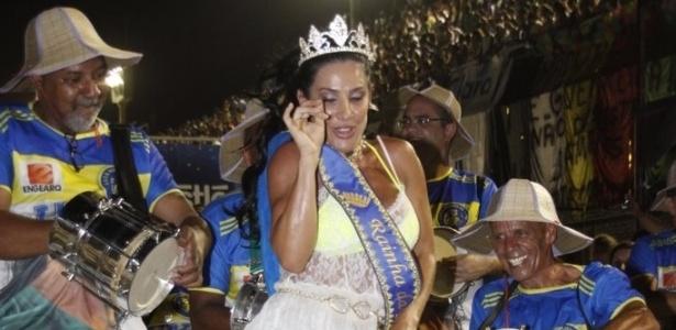 Scheila Carvalho vai desfilar pela primeira vez como rainha de uma escola carioca, na Paraíso do Tuiuti