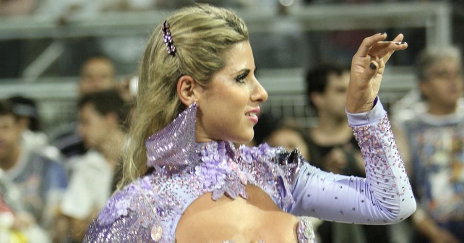Ana Paula Minerato em ensaio da Gaviões da Fiel (14/1/12)