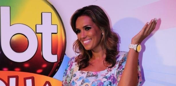 Karyn Bravo é apresentadora de telejornais do SBT (17/1/12)