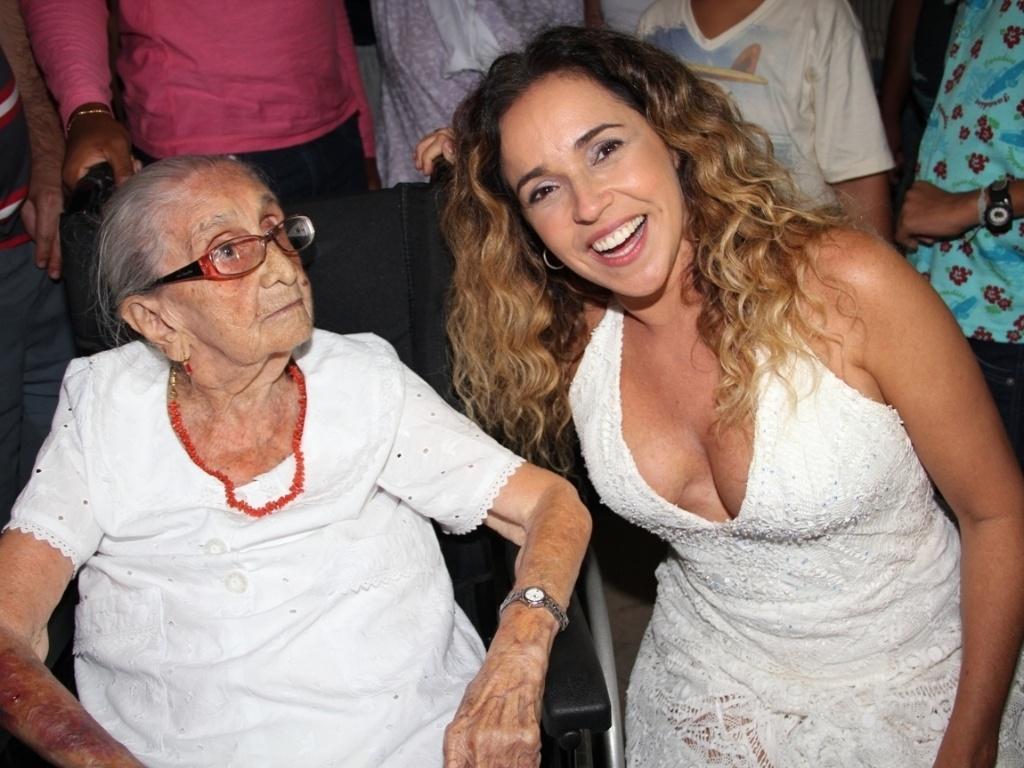Daniela Mercury também foi um das atrações da Festa da Purificação (31/01/12).