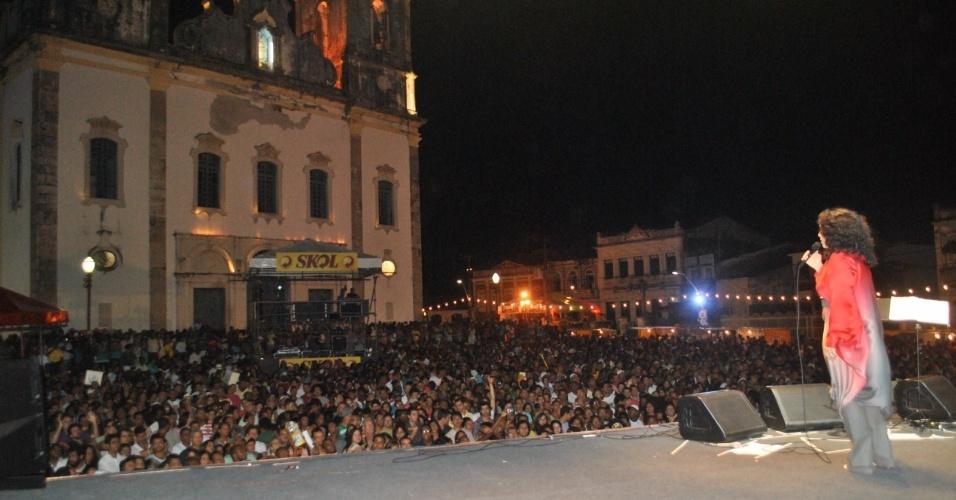 Gal Costa se apresenta na Festa da Purificação no sábado (28/01/12). A festa é tradicional em Santo Amaro da Purificação, no Recôncavo Baiano, e exalta a padroeira da cidade, Nossa Senhora da Purificação