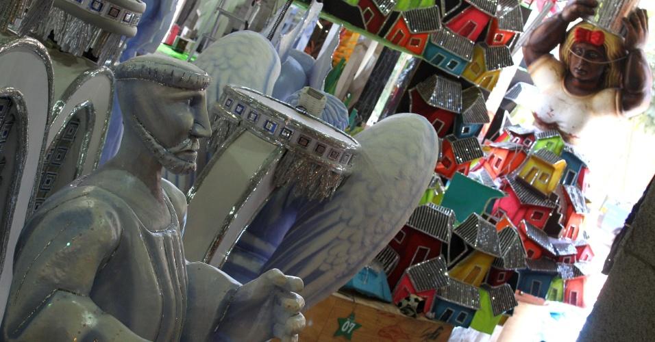 A Mocidade Independente de Padre Miguel vai levar para a Marquês de Sapucaí, na primeira noite de desfiles, o enredo: