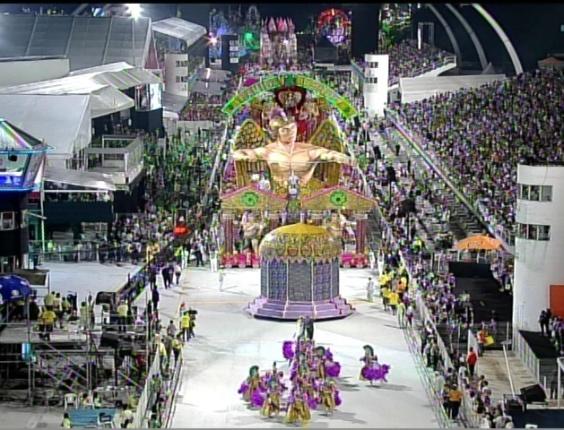 Desfile da Camisa Verde e Branco, no Anhembi, em São Paulo (17/2/12)