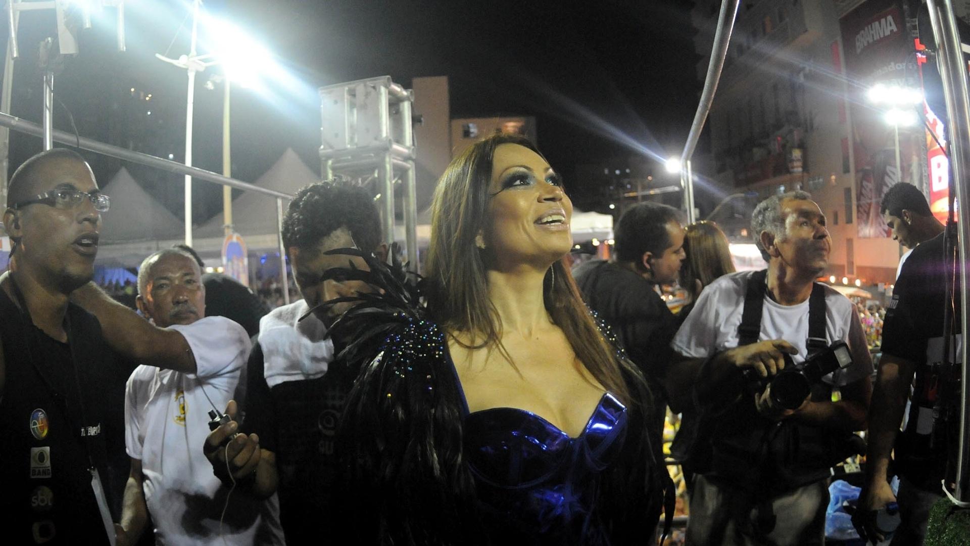 Banda Aviões do Forró se apresenta no trio Fissura/Aviões Elétricos, no circuito Barra-Ondina (Dodô), em Salvador (17/2/12)