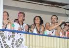 Rafaela Fischer, filha de Vera Fischer, assiste ao show de Ivete Sangalo em camarote em Salvador - AgNews