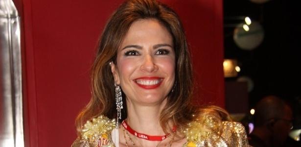 Luciana Gimenez aproveita Carnaval no camarote Devassa (19/2/12)