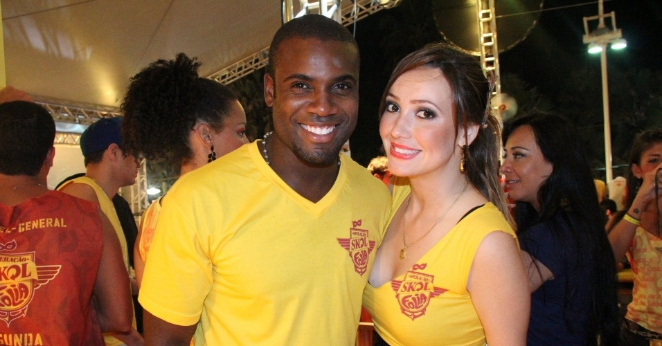 Rafael Zulu e Josie Pessoa no Camarote da Skol em Salvador