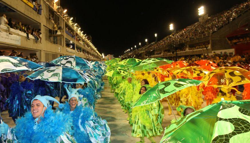 São Clemente desfila enredo em homenagem ao Rio de Janeiro (6/3/2011). A ala