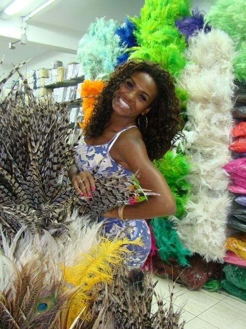 """Valeska é também assistente de palco do programa """"Melhor do Brasil"""", da Rede Record, e disse estar animada com a proximidade do carnaval"""