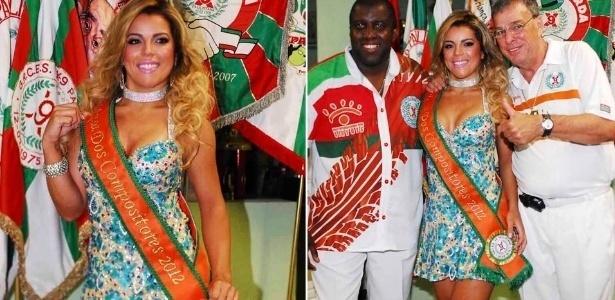 Miss Bumbum Rosana Ferreira é coroada musa na X9 Paulistana