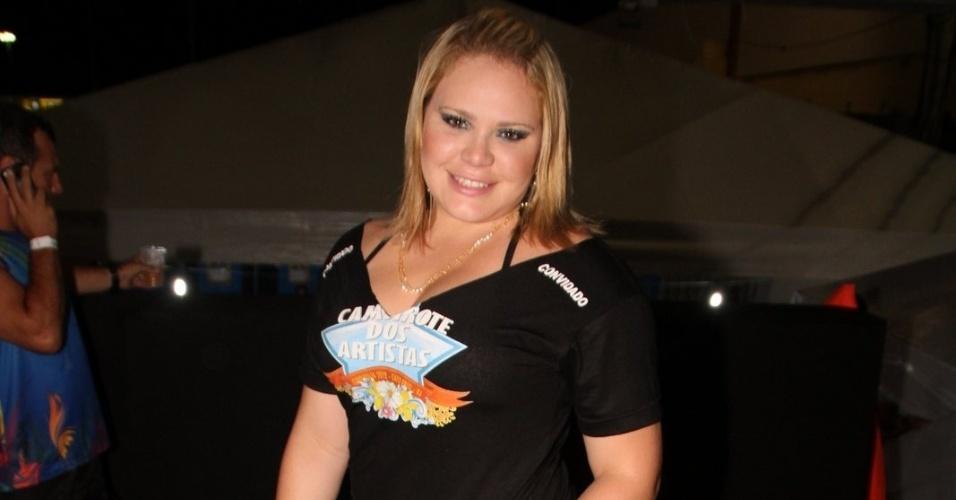 A ex-BBB Paulinha curte o Cabofolia, em Cabo Frio. O evento, que é a maior micareta fora de época do Rio de Janeiro teve apresentação da cantora Ivete Sangalo  (20/1/12)