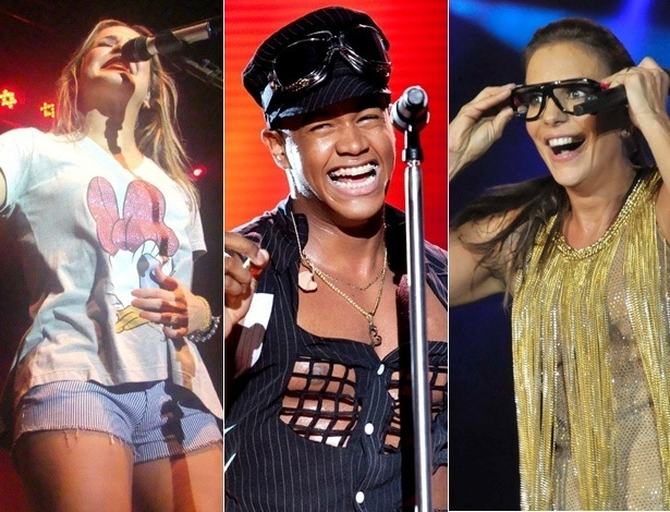 Claudia Leitte, Leo Santana e Ivete Sangalo: quem vai emplacar o hit do Carnaval 2012? Vote na enquete