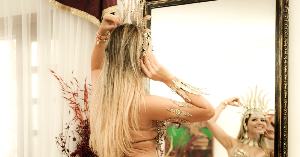Tânia Oliveira prova a