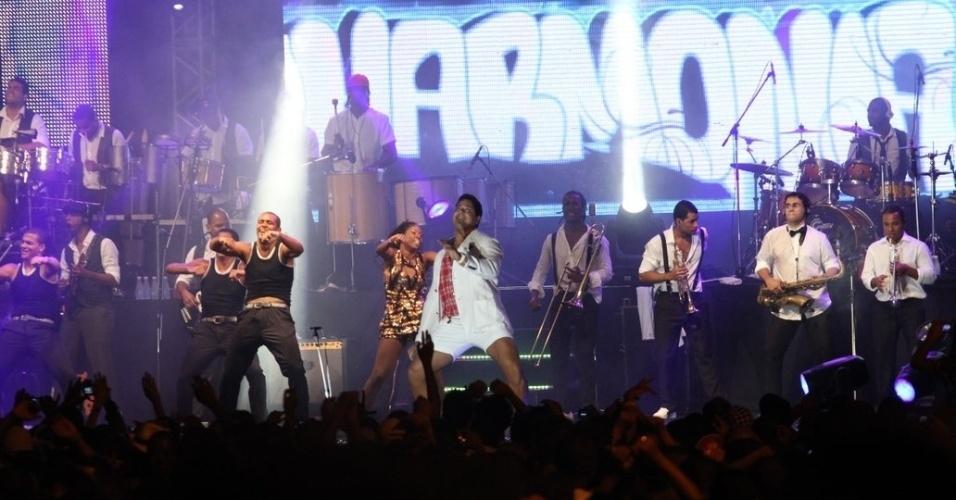 O Harmonia do Samba fechou a temporada de ensaios no evento