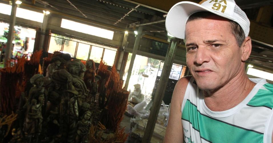 Alexandre Louzada, 53 anos, carnavalesco da Mocidade Independente de Padre Miguel (10/2/12)
