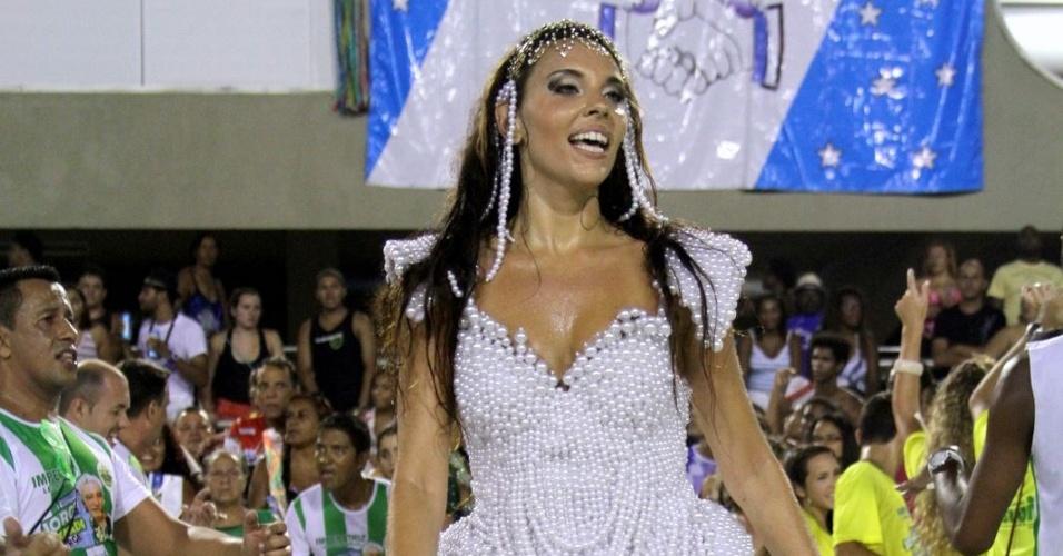 Devla Imperatrix também será homenageada por Zeca Marques no baile de luxo do Hotel Copacabana Palace como Rainha da Pérola neste sábado, dia 18