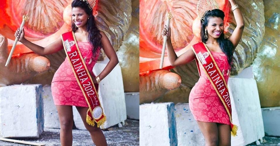 Durante ensaio para o UOL, rainha do Carnaval paulista e destaque da Rosas de Ouro Andreza Sobrinho mostrou os vestidos favoritos. O de renda laranja com detalhe dourado, que acha