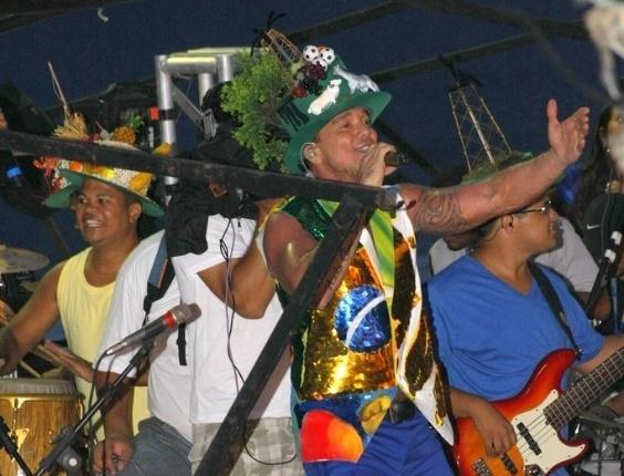 Netinho abre o Carnaval de Salvador do Circuito Barra Ondina, na Av. Oceanica, em Salvador (16/2/12)