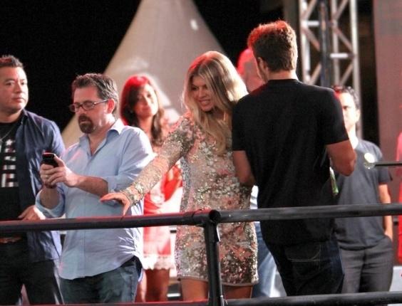 A cantora Fergie, do The Black Eyed Peas, cantou por cerca de uma hora os principais sucessos do grupo americano e também hits da carreira solo. Ela foi acompanhada pelos DJs franceses Mitch LJ e Jack-E. no Carnaval Eletrônico do Stage Music Park, em Florianópolis. Essa foi a primeira vez que Fergie se apresentou sem os companheiros de banda no Brasil (17/2/12)