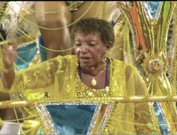 Sambista Leci Brandão participa do desfile da escola de samba Vai-Vai (18/2/2012)