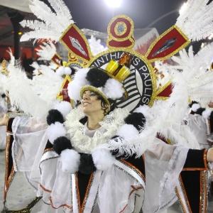 Em 2012, a Gaviões da Fiel falou da trajetória do ex-presidente Lula (19/2/2012) - Alexandre Schneider/UOL