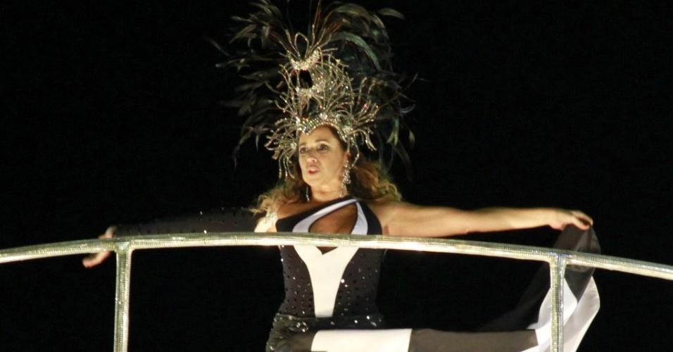 Daniela Mercury é destaque em carro da Portela que homenageia o Pelourinho (19/2/12)
