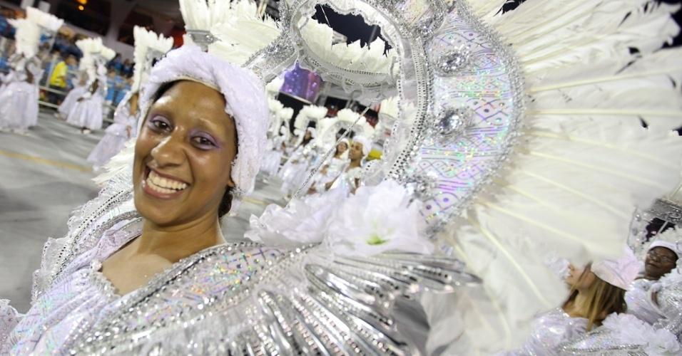Desfile da Dragões da Real, no Anhembi, em São Paulo (18/2/12)