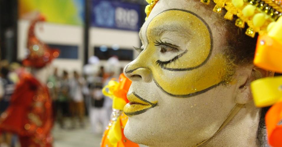 Desfile da Renascer de Jacarepaguá na Sapucaí, no Rio (19/2/12)