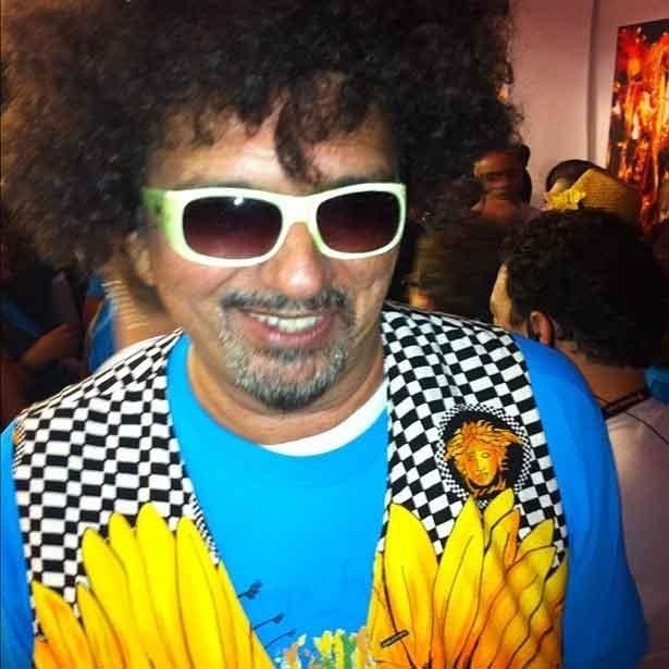 Falcão voltou ao camarote da Prefeitura no Carnaval paulistano, na madrugada de domingo (19/2/12)