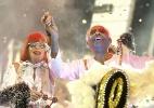 Águia de Ouro desfila no segundo dia de Carnaval em São Paulo