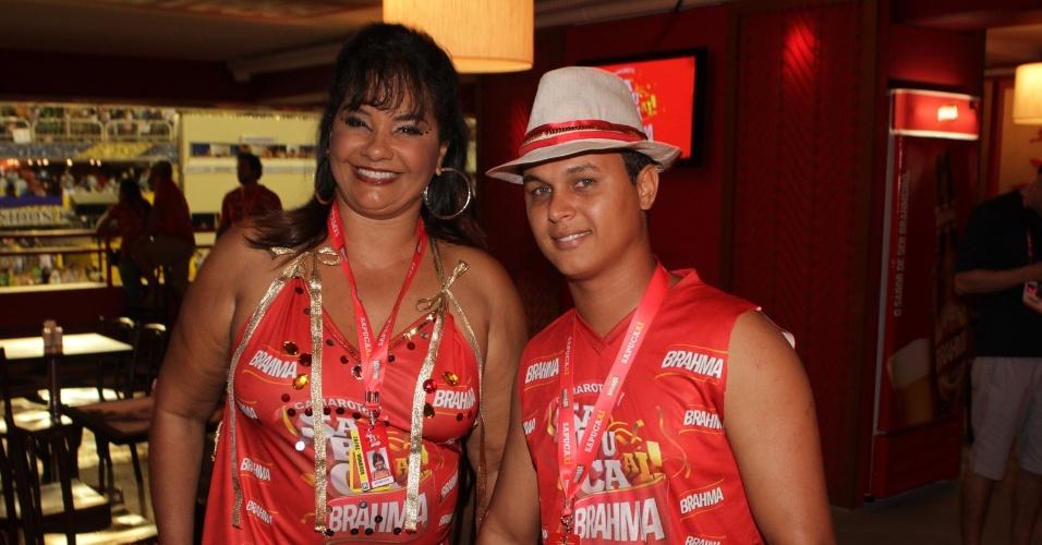 A atriz Solange Couto e o marido, Jamerson Andrade