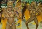 Qual foi a musa da 1ª noite de desfiles no Rio de Janeiro?