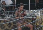 Com a barriguinha de gravidez já saliente, Claudia Leitte agita trio do circuito Barra-Ondina (Dodô) - Francisco Cepeda/AgNews