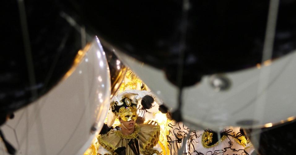 Desfile da São Clemente na Marquês de Sapucaí, no Rio (20/2/12)