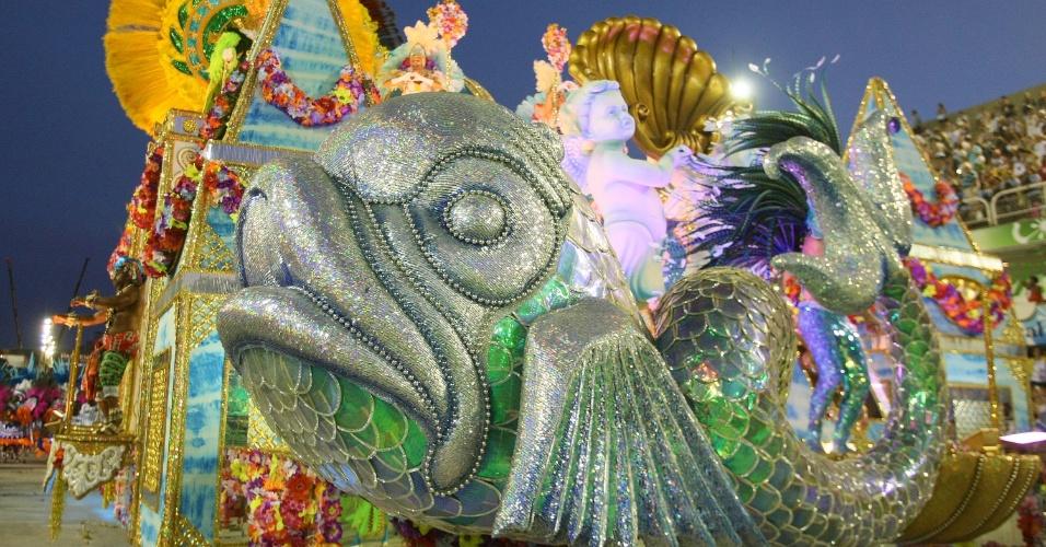 Desfile da Vila Isabel, que levou a cultura angolana à Sapucaí (20/2/12)
