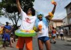 Foliões se divertem no Carnaval de São João Del Rey, em Minas Gerais