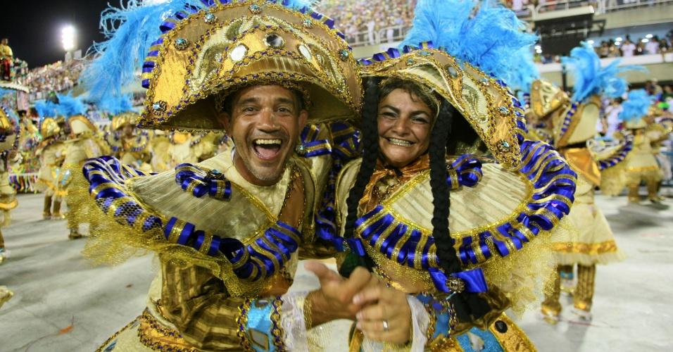 A Portela uniu os ritmos do samba carioca e do axé baiano na sua volta à disputa do título, com o enredo