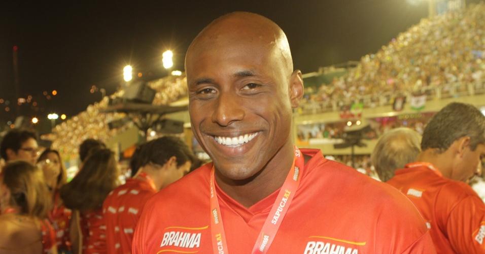 O ator carioca Fábio Nascimento
