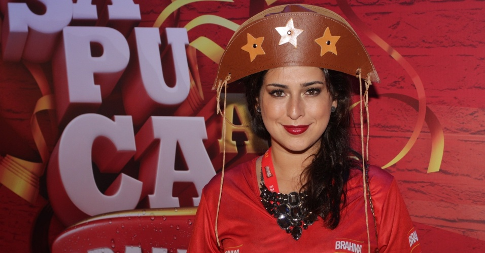 A atriz Fernanda Paes Leme