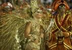 Salgueiro desfila no segundo dia de Carnaval no Rio