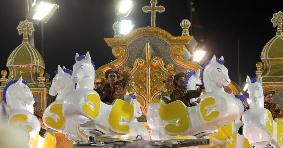 Destaque de carro da Unidos da Tijuca (21/2/2012)
