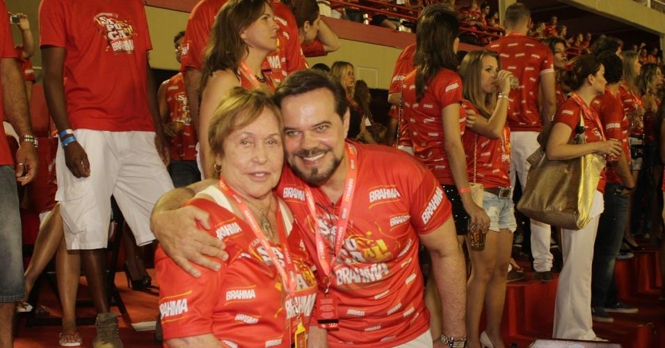 O ator Diogo Vilela e Ivone Kassu
