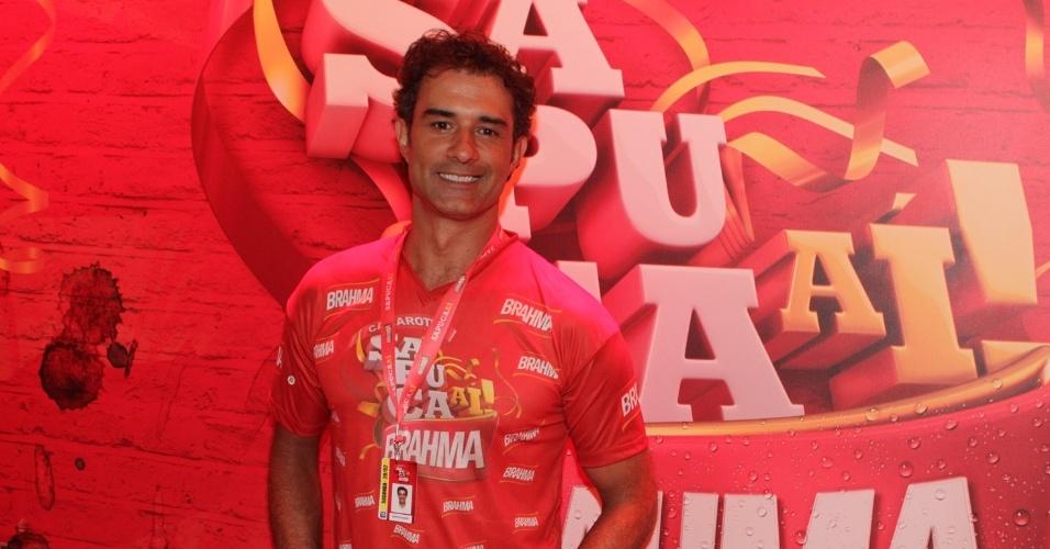 O ator Marcos Pasquim