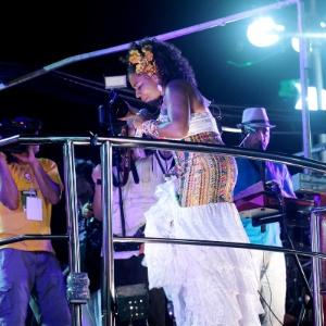 Margareth Menezes se apresenta no Carnaval de Salvador (Foto: )