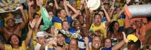 Unidos da Tijuca é a campeã do Carnaval do Rio de Janeiro 2012 (Foto: Zulmair Rocha/UOL)
