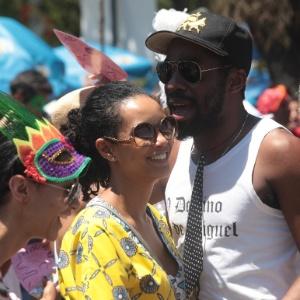 Bloco Me Beija que Eu Sou Cineasta agita último dia de Carnaval no Rio de Janeiro (Foto: )